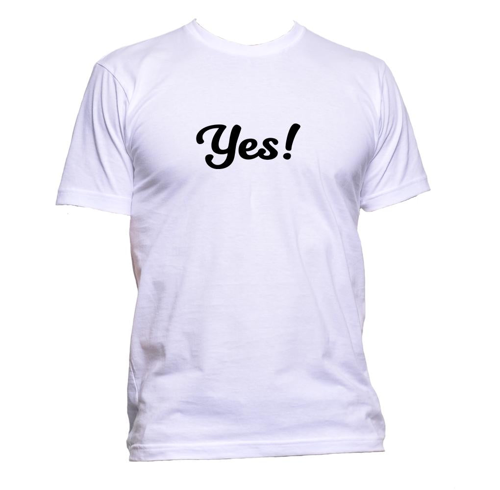 AppleWormDesign • Yes! gift - Men's T-Shirt •