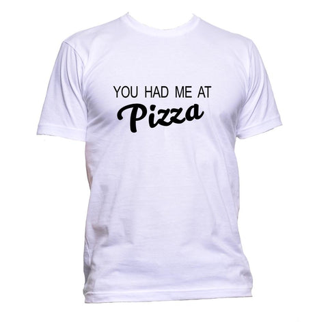 AppleWormDesign • You Had Me At Pizza gift - Men's T-Shirt •