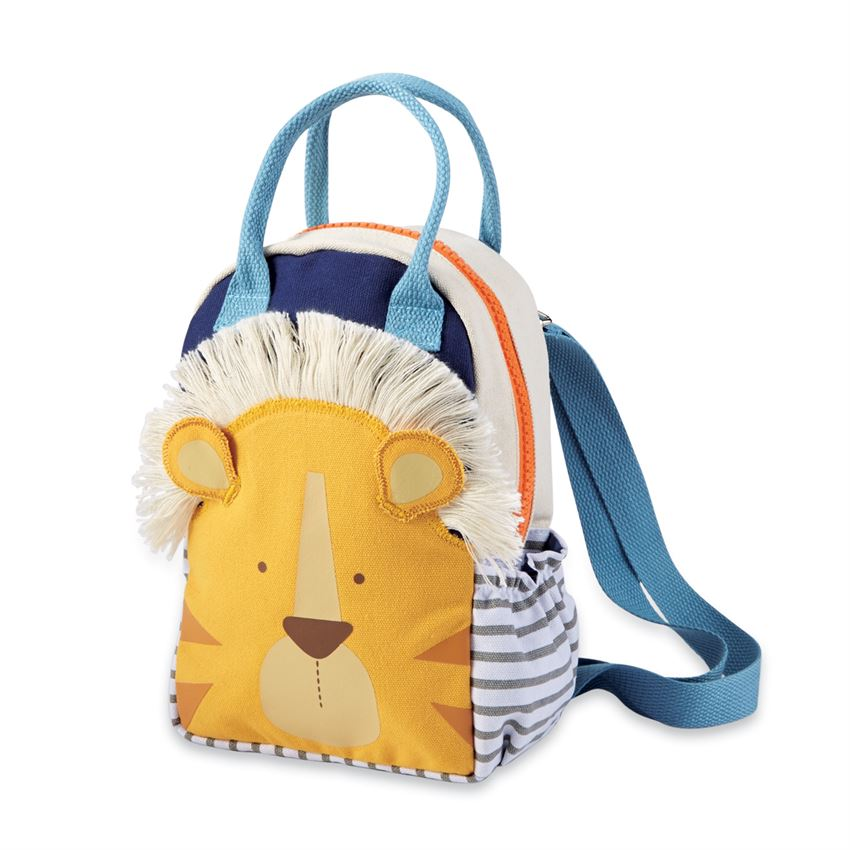 Canvas Lion Backpack