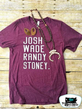 Load image into Gallery viewer, Josh Wade Randy Stoney Tee