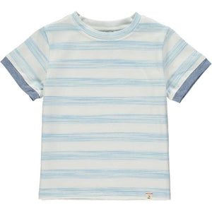 Blue & White Stripe Tee