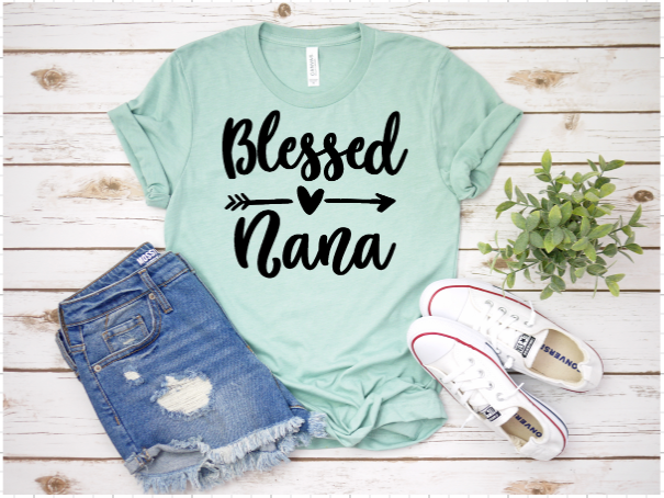 Bella Canvas Blessed Nana Tee