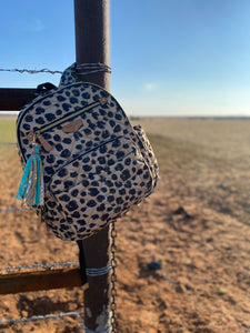 Companion Backpack in Leopard Print