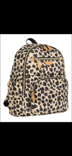 Load image into Gallery viewer, Companion Backpack in Leopard Print