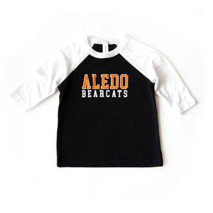 Aledo Bearcats Baseball Tee - TODDLER