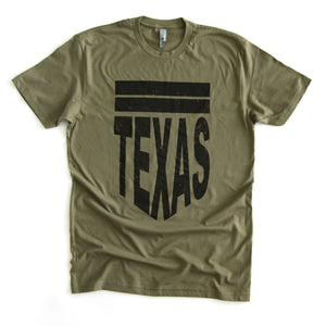 Texas Shield (Military Green) - ADULT