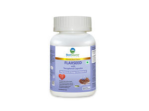Flaxseed with Tocopherol Capsules