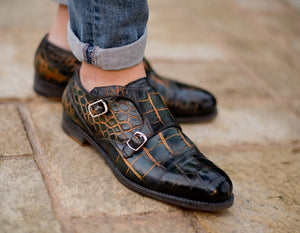 Limited Edition 'Valeggio' double monkstrap