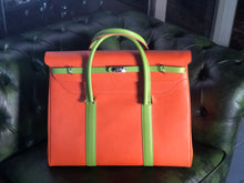 "Load image into Gallery viewer, The ""COMO"" Jetset Bag in Calfskin w/ insert"