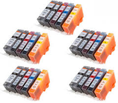 Compatible Canon CLI526 / PGI525 INK - 25 Pack - Inksdirect