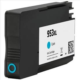 Compatible HP F6U16AE 953XL Cyan (New Chip) - Inksdirect