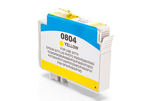 Compatible Epson C13T08044011 T0804 Yellow 520 Page Yield - Inksdirect