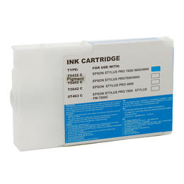 Compatible Epson C13T543200 T5432 Cyan 110ML Page Yield - inksdirect