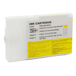 Compatible Epson C13T543400 T5434 Yellow 110ML Page Yield - inksdirect