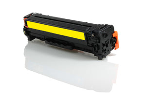 Compatible HP CC532A 304A / Canon 718 Yellow 2800 Page Yield - inksdirect