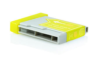 Compatible Brother LC1000 / LC970 Yellow 18ml 400 Pages - Inksdirect