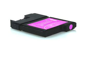 Compatible Brother LC1100 / LC980 Magenta 10.6ml 300 Pages - inksdirect