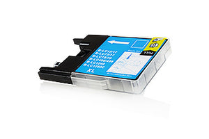 Compatible Brother LC1280XL / LC1240 Cyan 23ml 1200 Pages - inksdirect