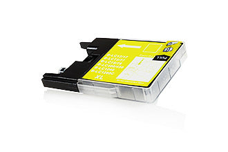 Compatible Brother Ink LC1280XL / LC1240 Yellow 23ml 1200 Pages - Inksdirect