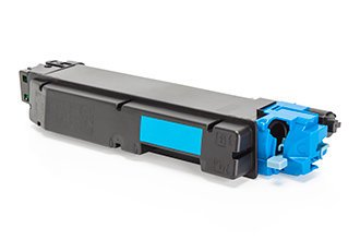 Compatible Kyocera TK5150C Cyan Toner 10000 Page Yield - Inksdirect