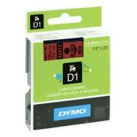 Compatible Dymo S0720570 45017 Black on Red 12mm x7m - Inksdirect