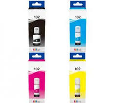 Compatible Epson Ecotank T102  C13T03R240 Multipack 4PK - inksdirect