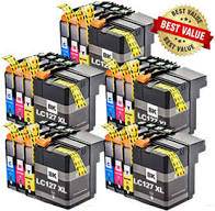 Compatible Brother LC127XL LC125XL Multipack 20PK - Inksdirect