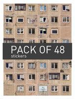 Urban Soviet stickers // FULL pack of 48