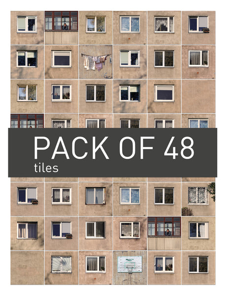 Urban Soviet tiles // FULL pack of 48
