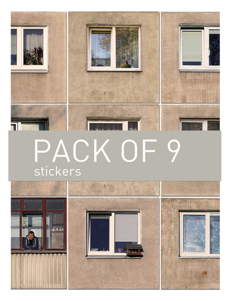Urban Soviet stickers // SMALL pack of 9