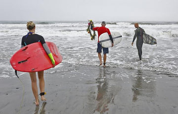 Wreath Laying In The Nantasket Surf Honors Sept. 11 Victims