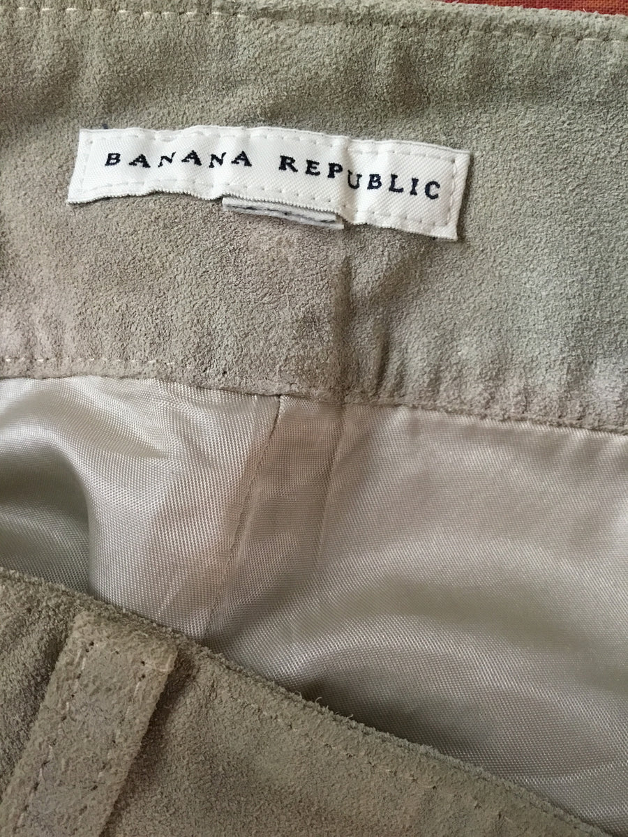 Banana Republic Suede Pants