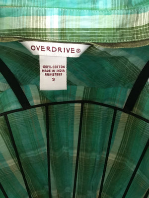 Overdrive Button Down
