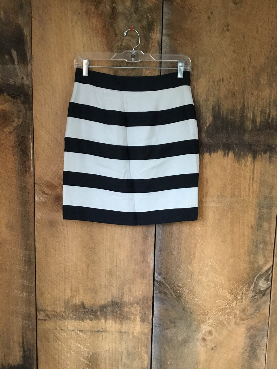 Club Monaco Stripe Skirt