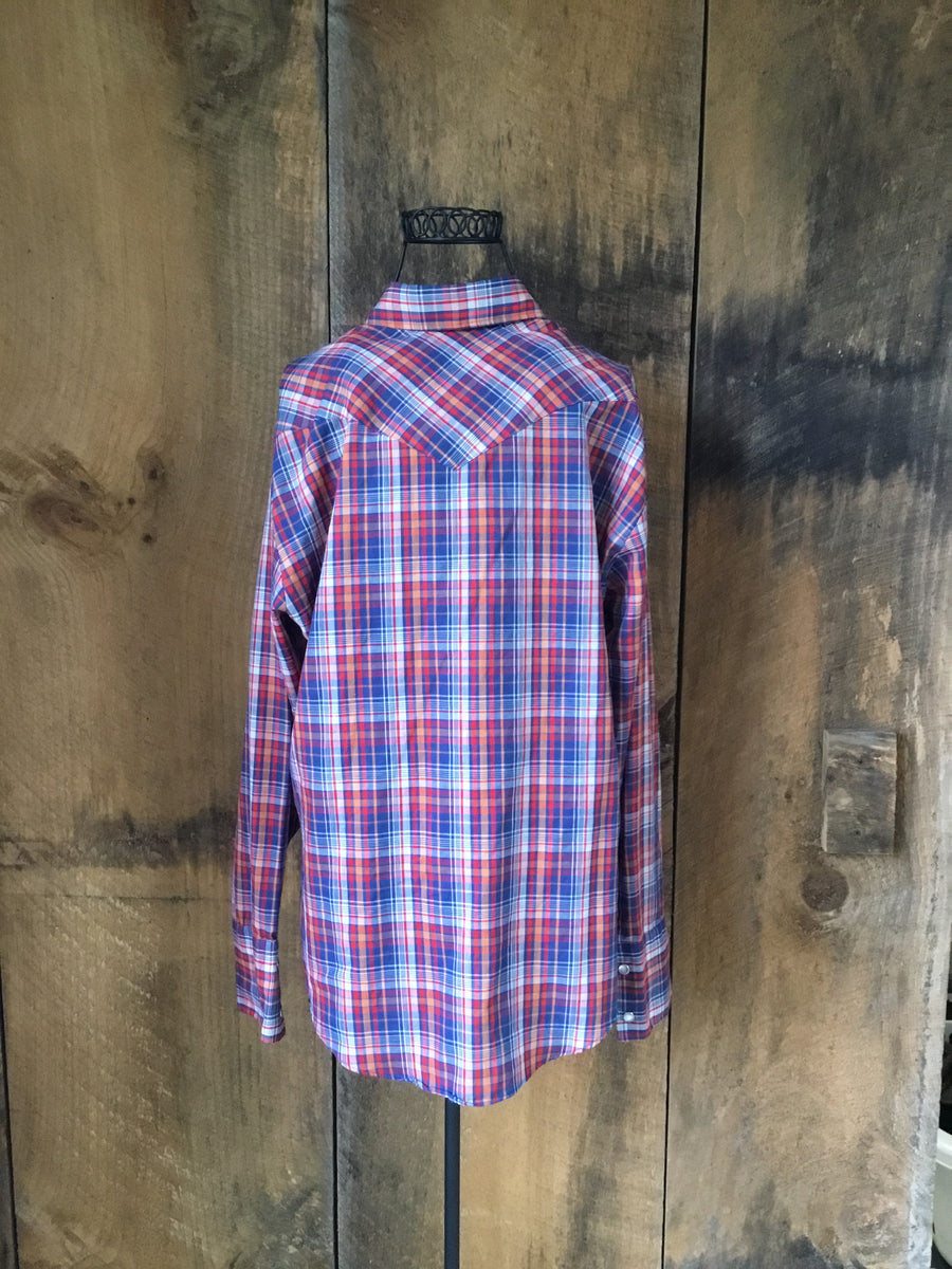 Vintage 70's Western Button Down Shirt