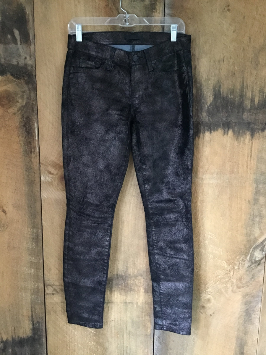 7 For All Mankind Sparkle Skinny Jeans