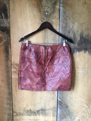 Fossil Leather Skirt