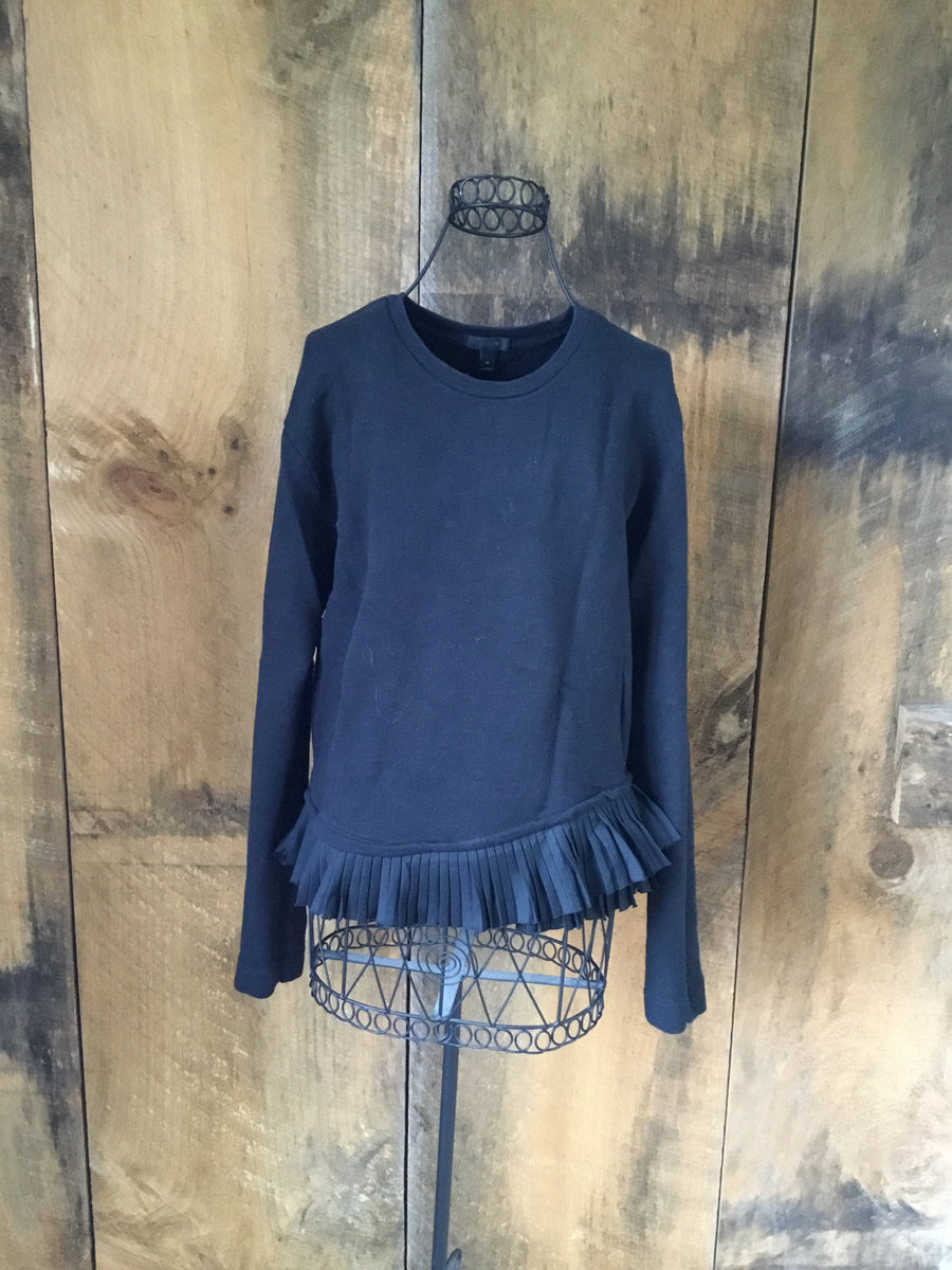 J.Crew Ruffled Sweatshirt