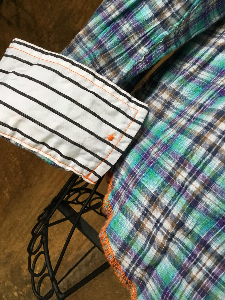 Arnold California Plaid Button Down