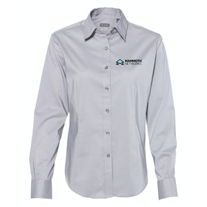 Mammoth Networks - Van Heusen - Grey Women's Collar Shirt