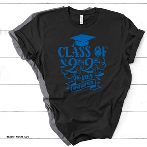 Class of 2020 - S**T Got Real - Black T-shirt