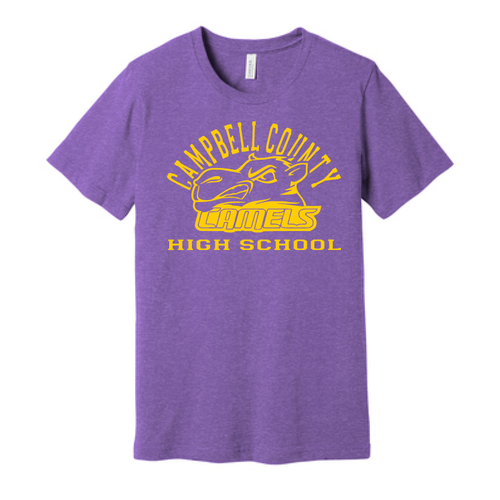 Campbell County High School Camels – Unisex Jersey Tee