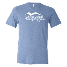 Gillette College Nursing Program - Bella + Canvas - Unisex Triblend Short Sleeve Tee
