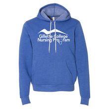 Gillette College Nursing Program - Bella + Canvas - Unisex Hooded Pullover Sweatshirt