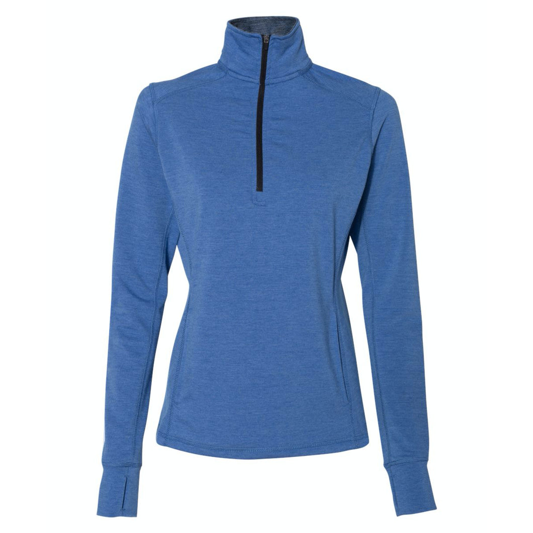 {NEW 2020} Women's Omega Stretch Quarter-Zip Pullover - First National Bank