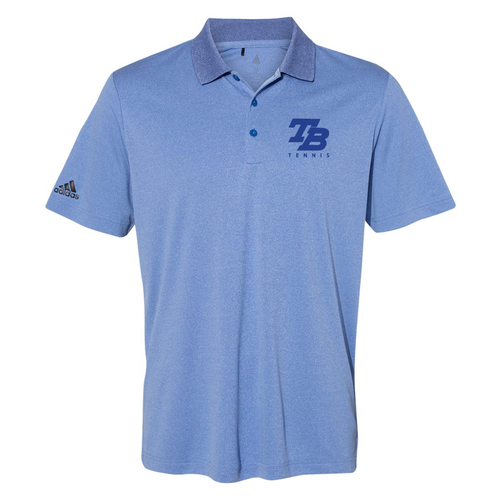 Thunder Basin Bolts Tennis Adidas - Heathered Sport Polo