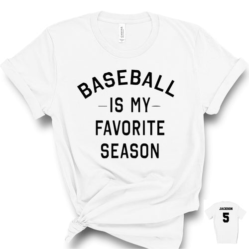 Baseball is My Favorite Sport  T-Shirt