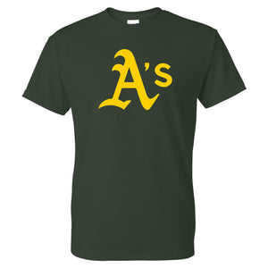 A's Baseball - Adult T-Shirt