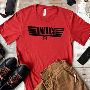 America - Top Gun Graphic T-shirt