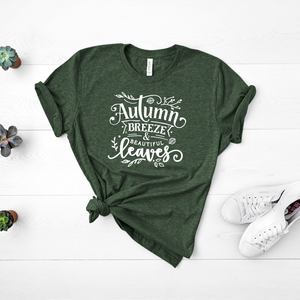 Autumn Breeze & Beautiful Leaves - Tee